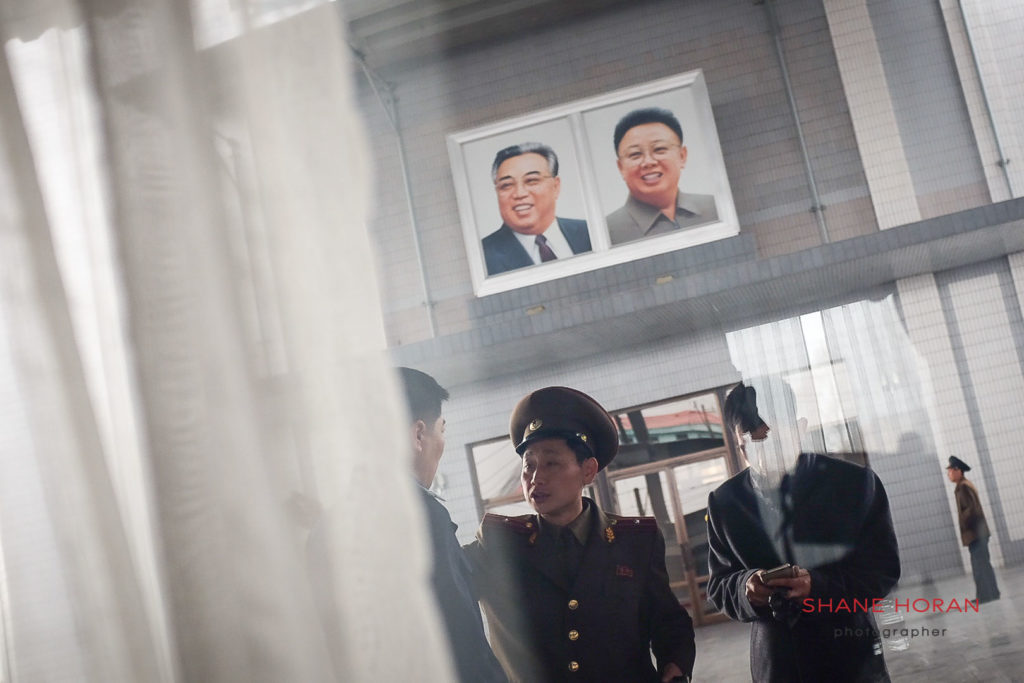 Through the looking glass at Sinuiju station, North Korea
