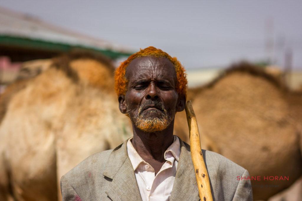 Camel trader, Hargeisa, Somaliland.