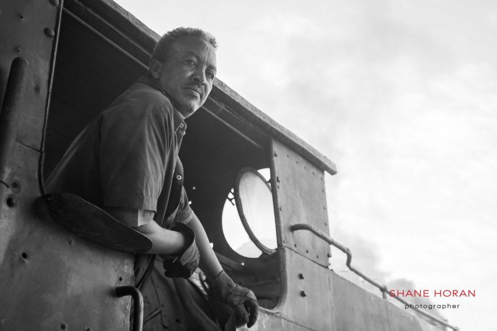 Steam train, Asmara, Eritrea