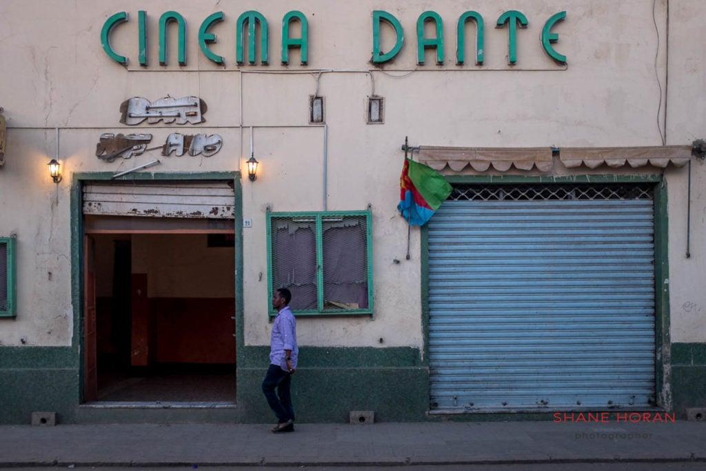Cinema dante, Asmara, Eritrea