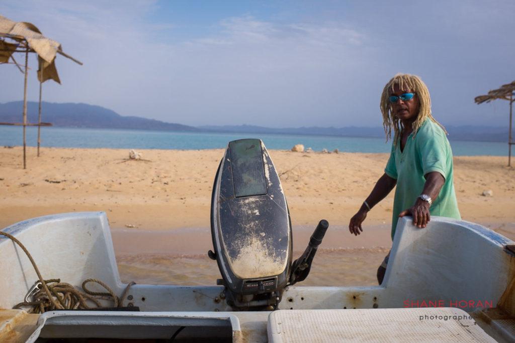 Boat man in Massawa, Eritrea