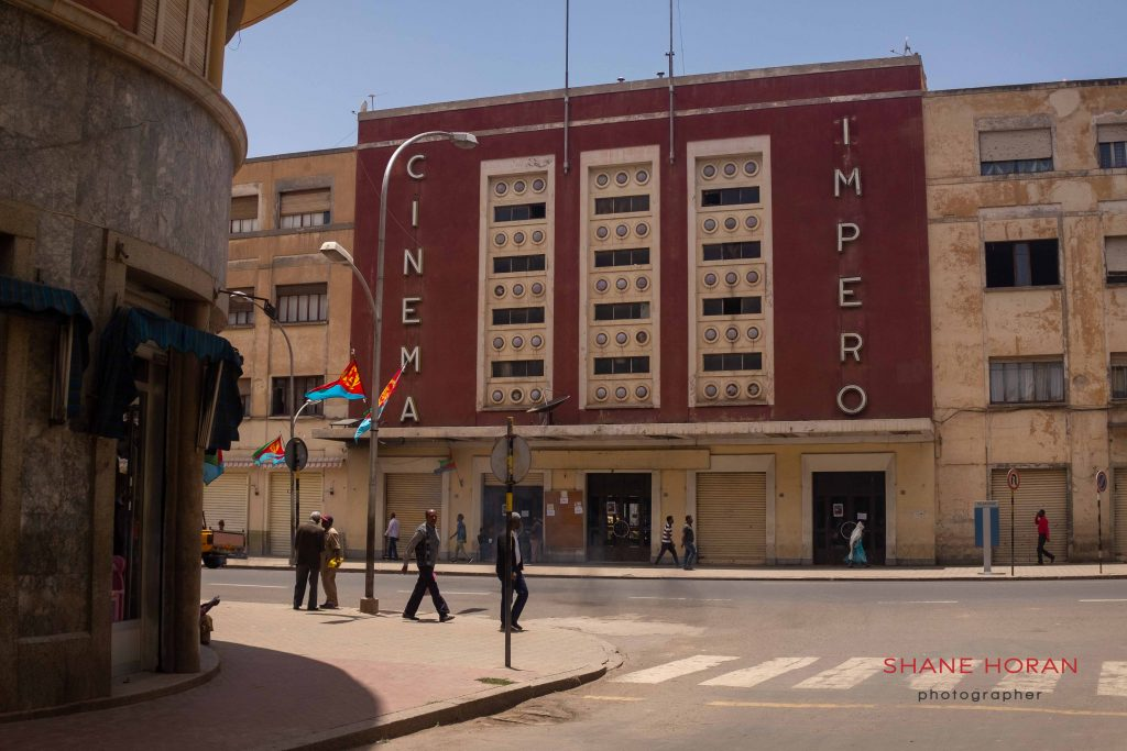Cinema Impero, Eritrea