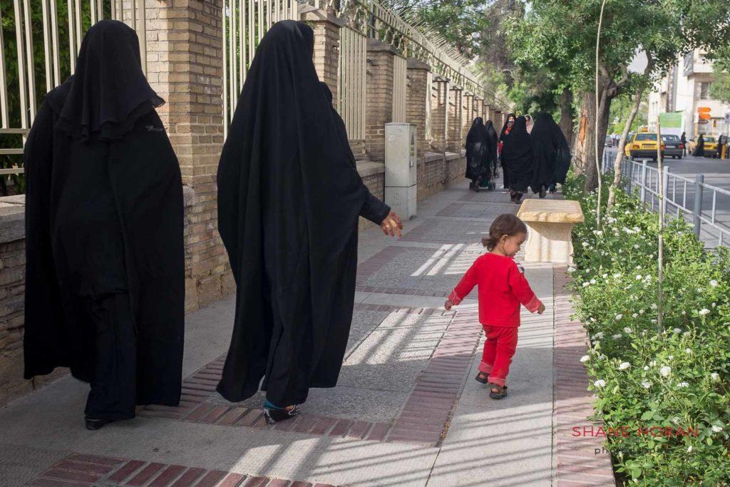 Isfahan street scene, Iran