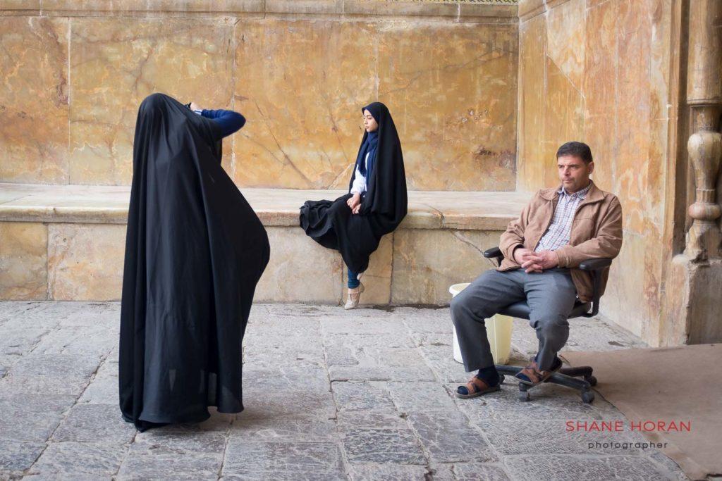 Street photo shoot in Isfahan, Iran
