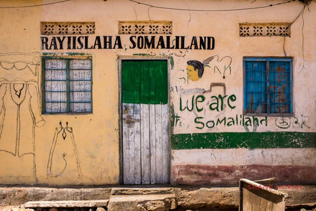 Steet house in Sheikh, Somaliland.