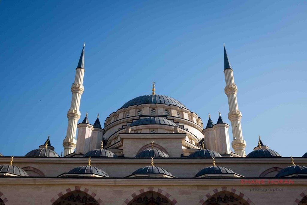 Grozny's Grand Mosque, Chechnya