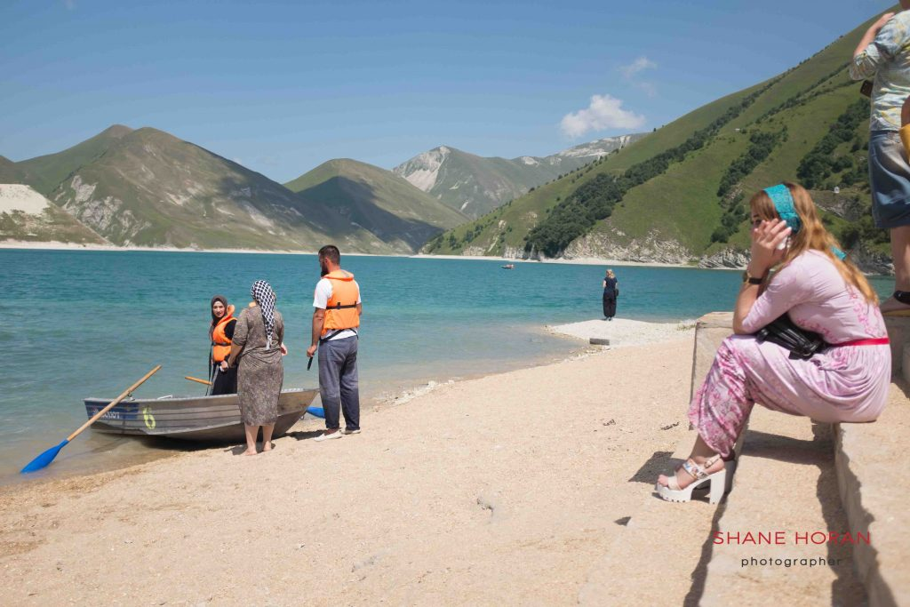 Boating in landlocked Chechnya