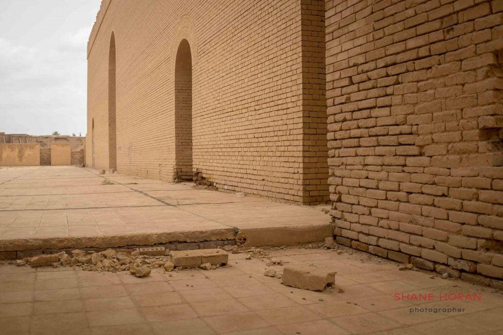 Crumbling Babylon, Iraq.
