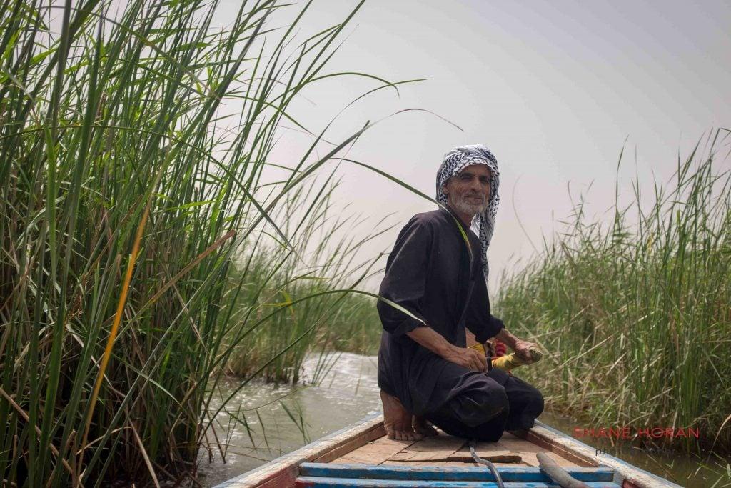 Boat driver, southern Iraq