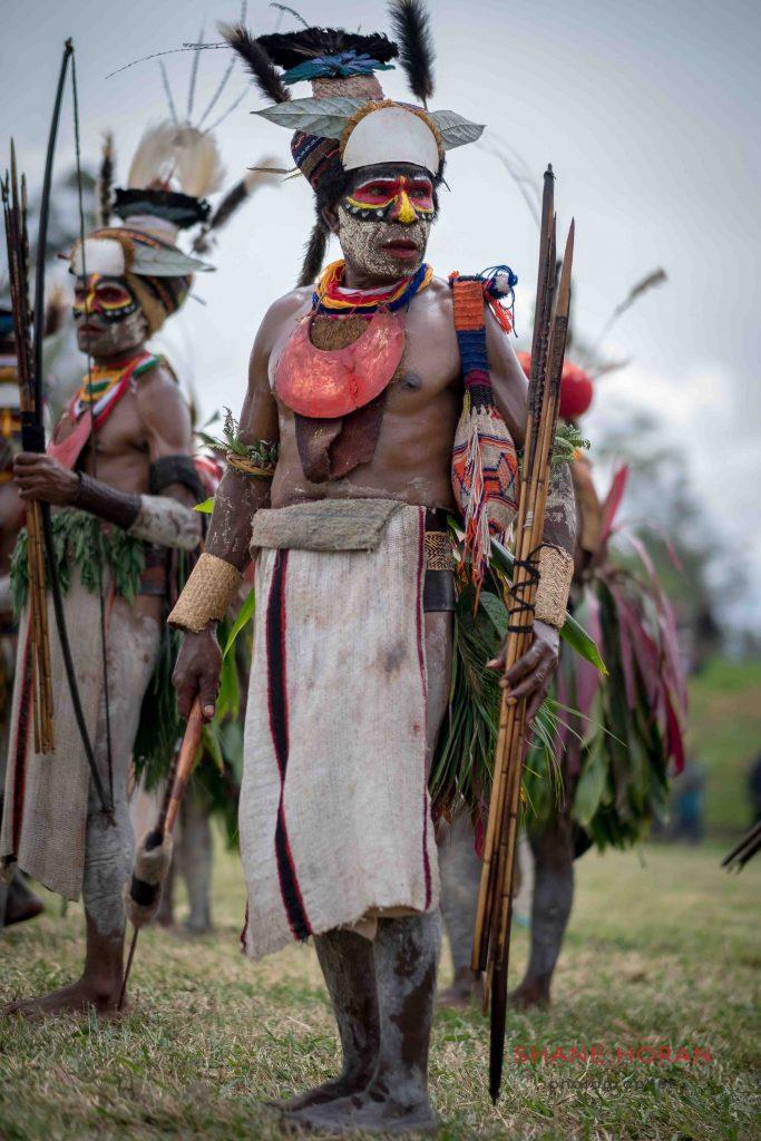 Archer during the Mount Hagen show, Papua New Guinea