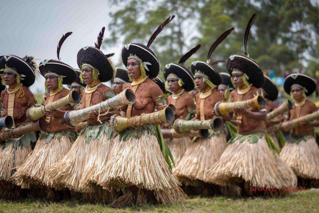 Tribal entrance, Papua New Guinea