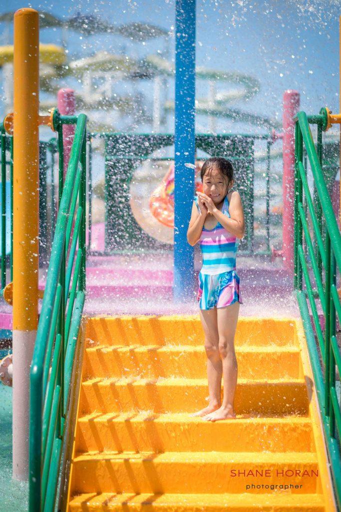 Fun in the sun, Munsu water park, Pyongyang, North Korea.