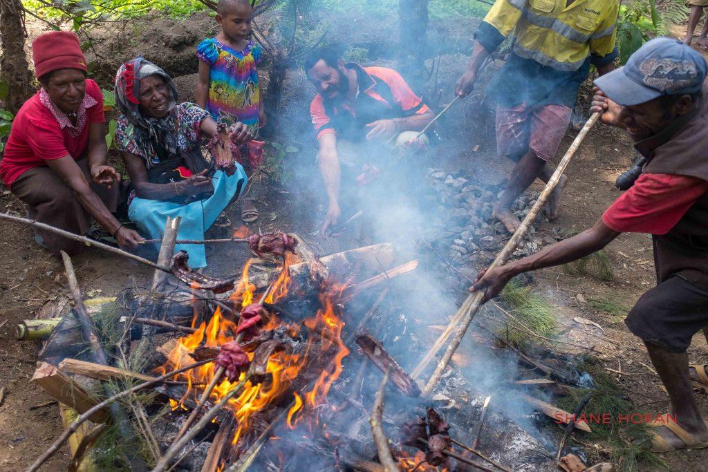 Pork, bbq, Papua New Guinea