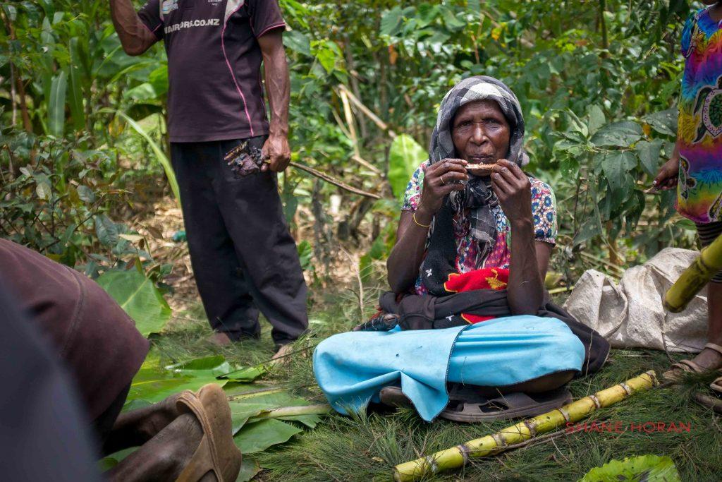 Local woman,Papua New Guinea