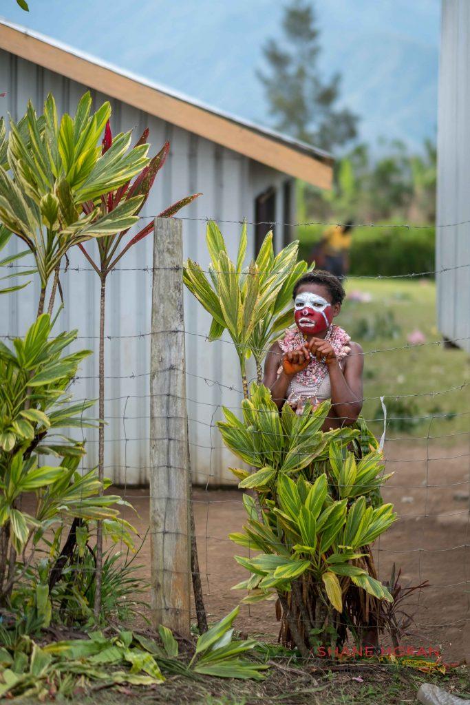 Papuan woman