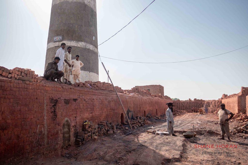 On the job, Pakistan