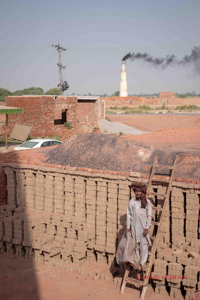 Mud bricks ready for cooking, Pakistan