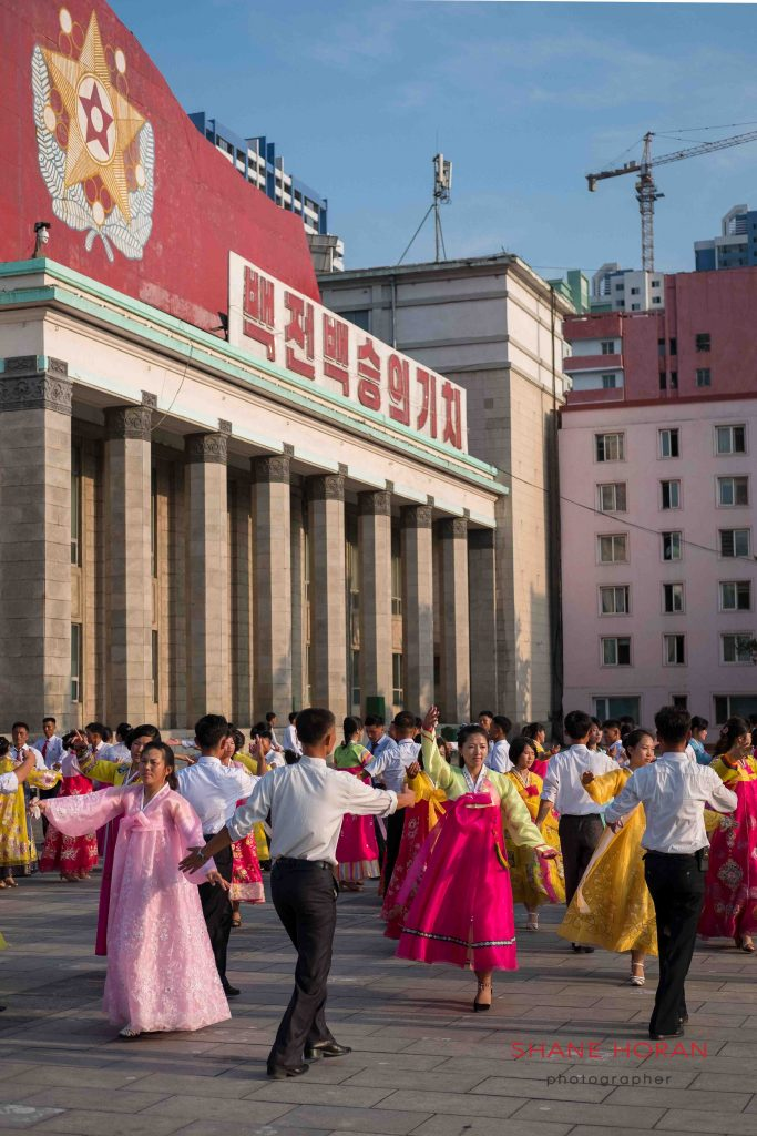 Victory day celebrations, Pyongyang, North Korea
