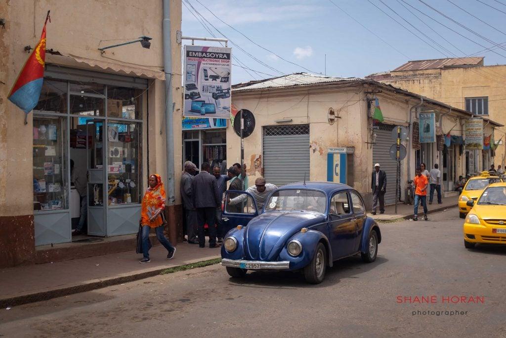 Asmara streets.