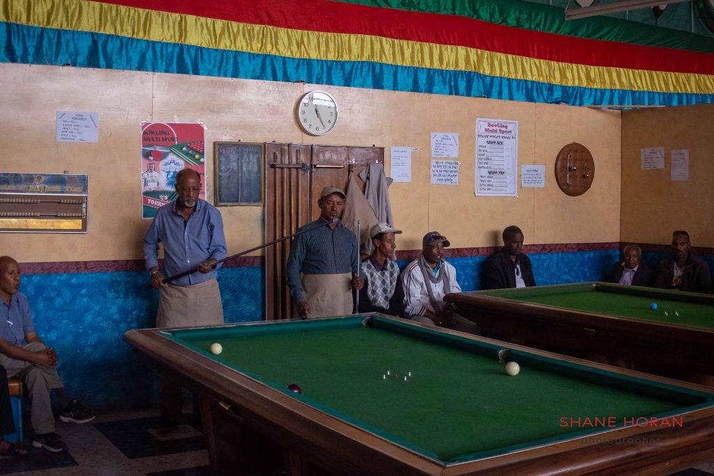 Asmara billiards.